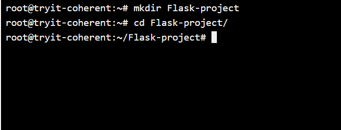 Virtual Environment Directories for Flask
