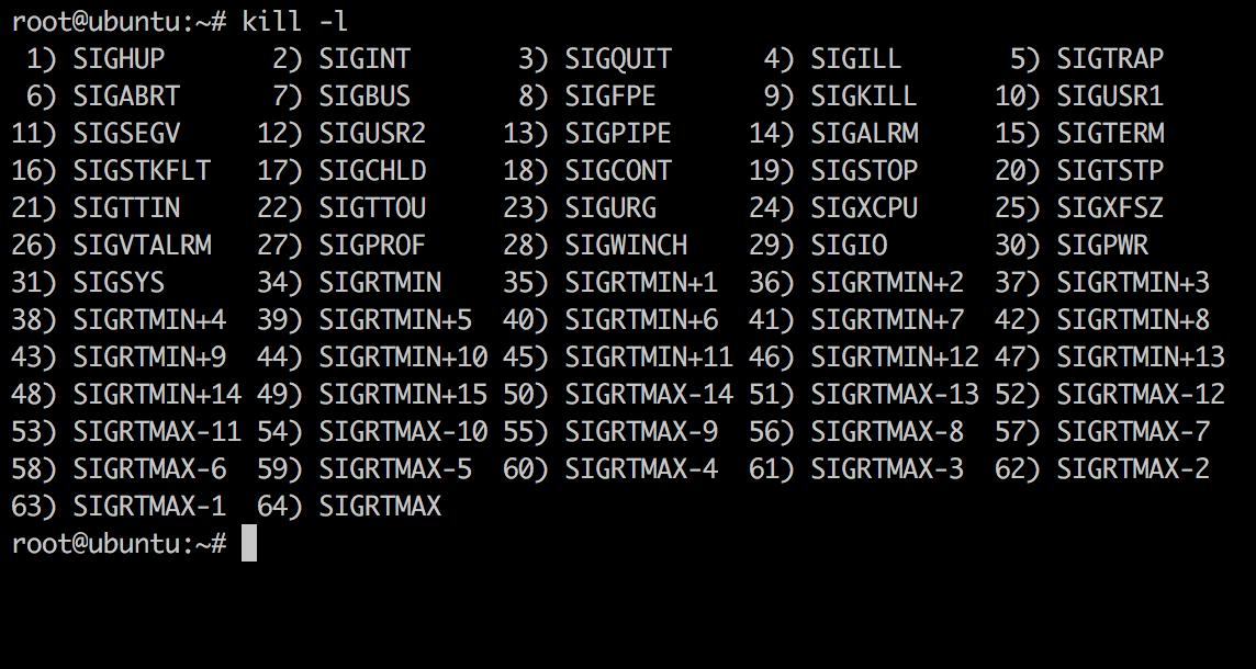 Linux Kill List Example