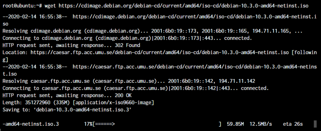 Linux Wget Command Example
