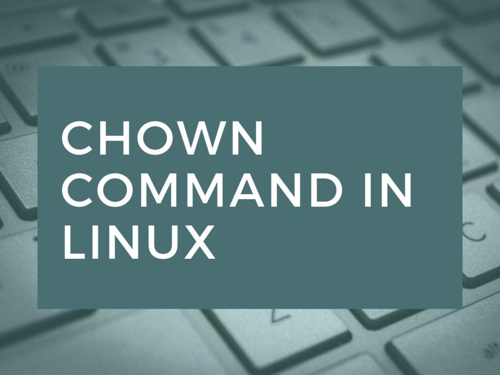 Chown Command In Linux