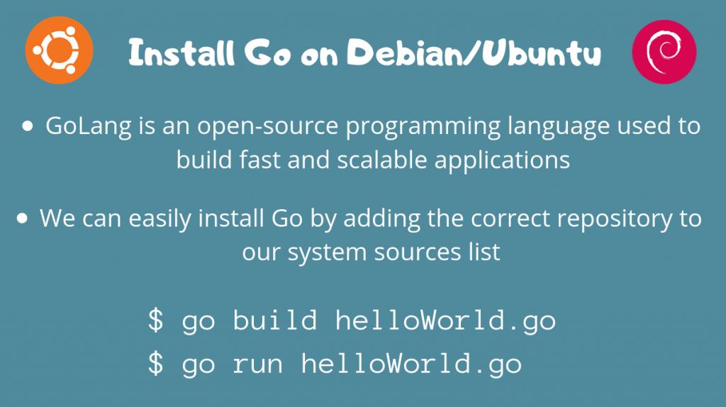 Install Go On Ubuntu Debian
