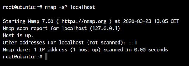 Nmap Ping Icmp Scan