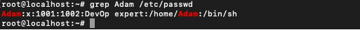 Grep Username