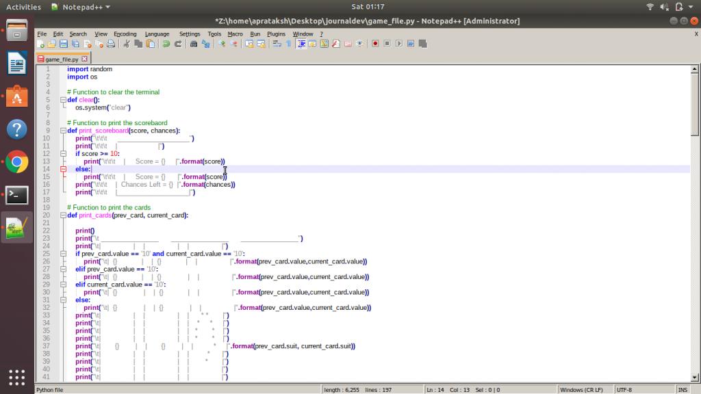 Notepad Code Highlight