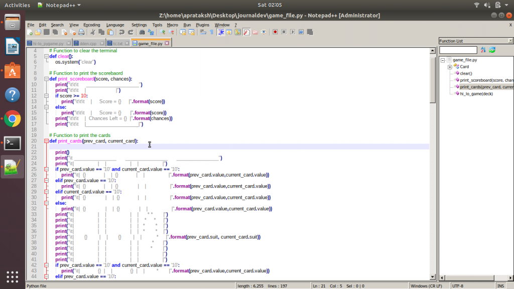 Notepad Functions