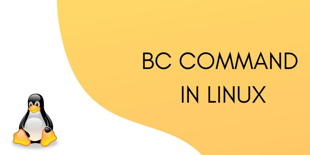 Bc Command