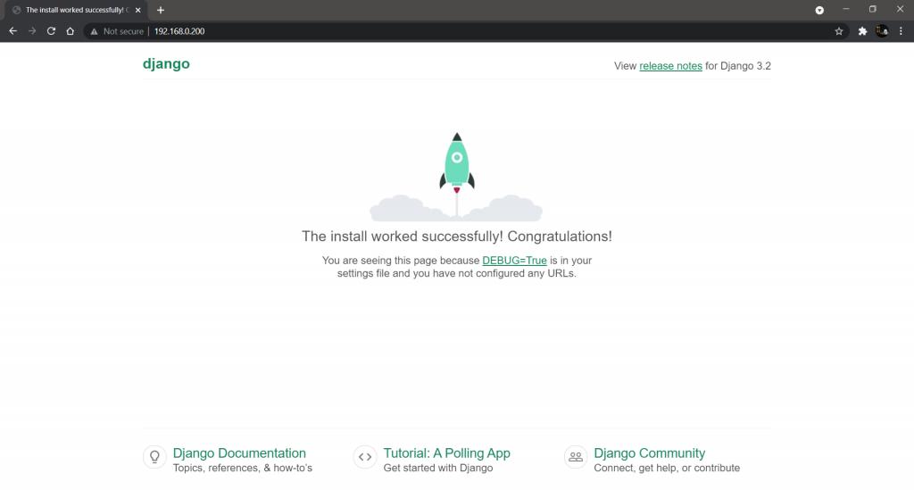 Django Webpage