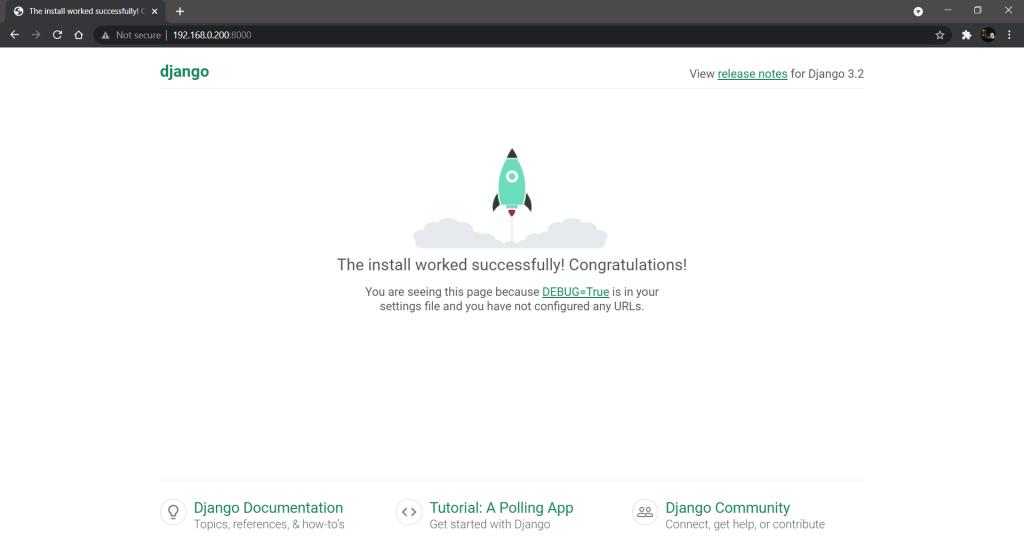 Django Project Homepage