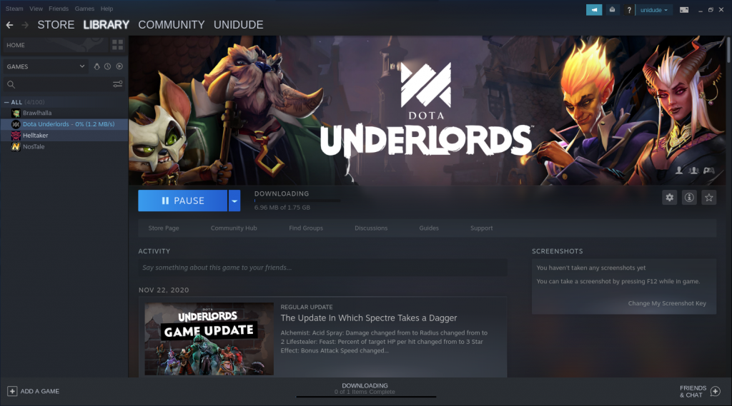 Downloading Game In Steam